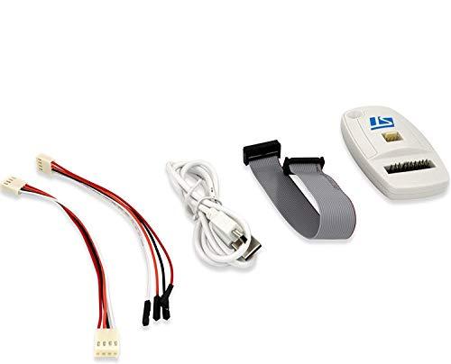 ARCELI ST-Link / V2 (Versión CN) ST MCU Microcontrolador STM8 STM32 JTAG SWD Swim Emulador en Circuito del Programador Emulador