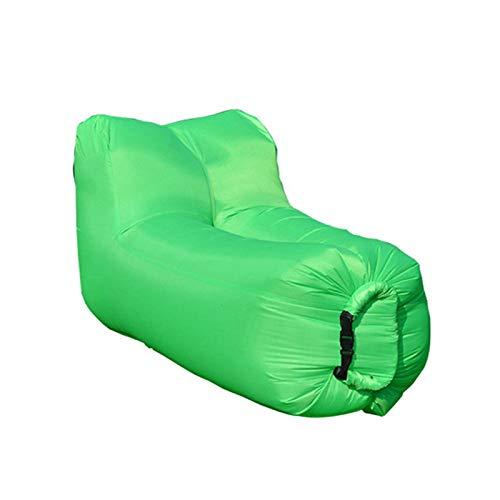 Aufblasbares Sofa Polyester Faltbare Schlafsack faul aufblasbare Sofa Outdoor Beach Air Sofa Bett Möbel Mode hochwertige Garten Sofas 140x70x70cm