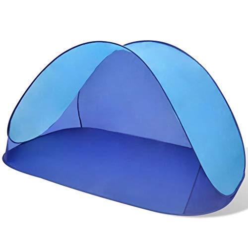 BBalm Nexos Trading - Tienda de campaña para playa (impermeable), color azul claro