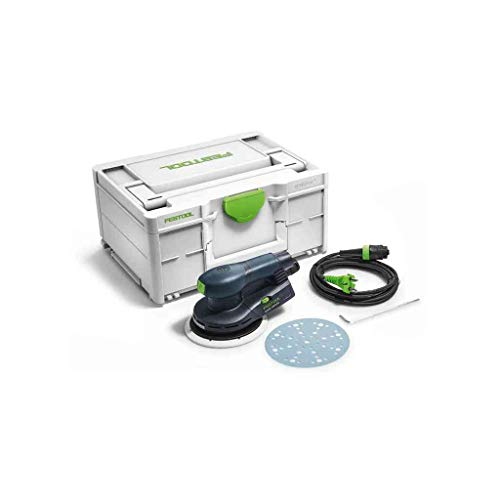 Festool 576329 ETS EC 150/5 EQ-Plus-Lijadora excéntrica, Color:, Size