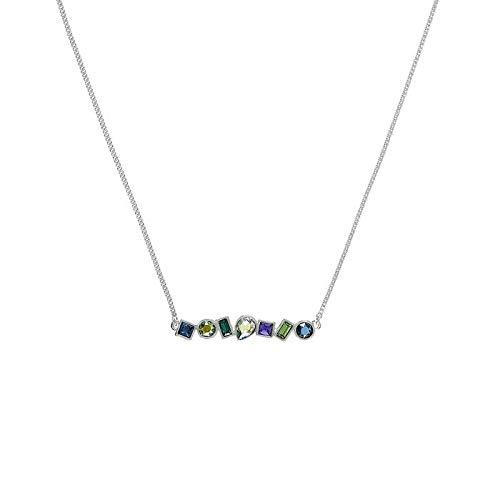 ADORE - Collar de metal con cristales de swarowski