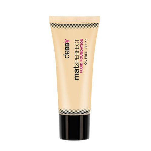 Debby Fondotinta Mat & Perfect Fluido 2 Make-up E Cosmetica - 500 g