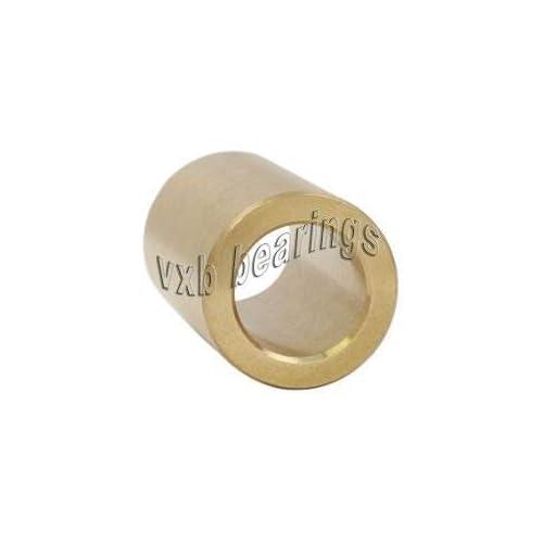 3//8 x 1//2 x 3//8 Inch Bearing Bronze Cast Bushing Plain Sleeve Bearings VXB Brand