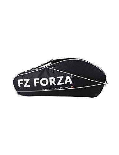 FZ Forza - Racketbag Star - Schwarz - für bis zu 6 Schläger - Geeignet für Badminton, Squash, Tennis etc.…