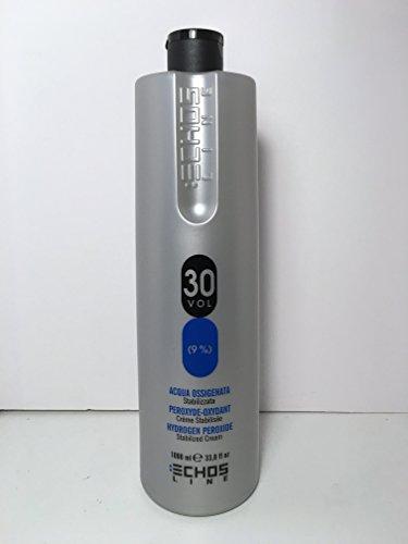 Oxydant parfumée - Oxydant en crème - 30 Volume - Made in italy 1000ml - Echos line - Inebrya