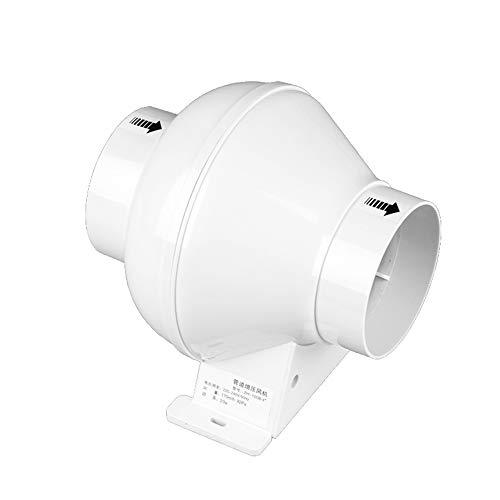 Inline Duct Fan Pipe Extractor Exhaust Fan Mini Ventilator Voor Plafond Badkamer Keuken Toilet Ventilator,White,4inch