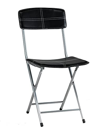 Kit Closet Pack 4 chaises, Noir, 78 X 45 X 42