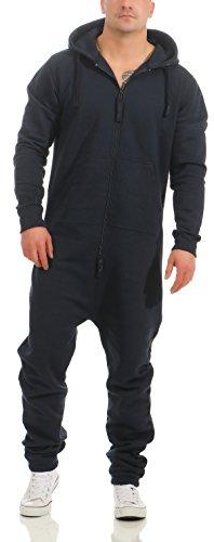 9t5 Herren Jumpsuit Farbauswahl Jogging Anzug Trainingsanzug Einteiler Overall