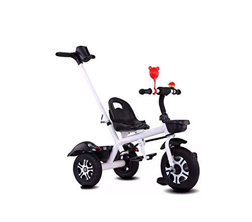 Driewieler trike kinderen trikes pedaal autos kinderen driewieler met verwijderbare ouders duwen handvat voor 1-6 jaar oude jongens meisjes intrekbare voetsteun pedaal kinderen fiets peuter scooters
