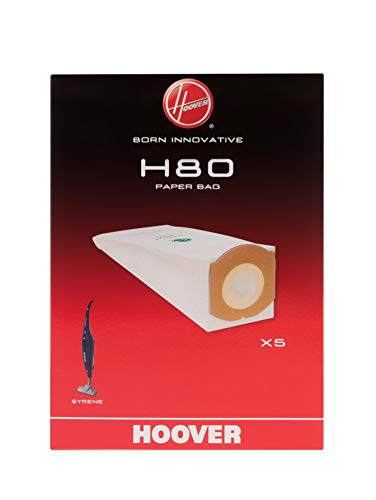 Hoover H80-Syrene Disposal Bags 35601774, Sacchetto in Carta, Misto