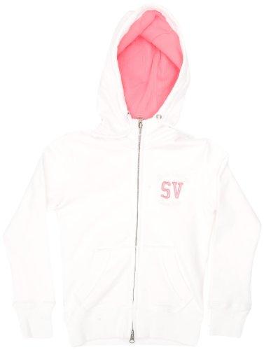 Sun Valley Junior Loft Sweat full zip fille Blanc 16 ans