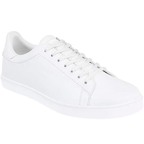 JAKO Unisex-Adult City Sneaker, weiß, 45 EU