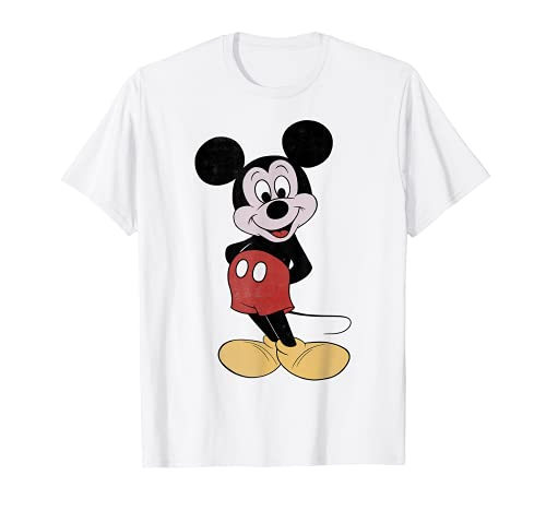 Disney Mickey Mouse Vintage Mickey Pose Graphic T-Shirt