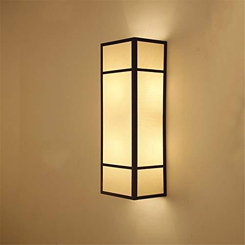 TAIZ Modern LED Wandleuchte Wohnzimmer-Korridor-Stehtisch Der Neuen Chinesischen Art KTV Antike Gewebe-Wandlampe Vintage Retro Café Loft Bar Flurlampe, Wandlampe Upaus Aluminium Für Flur Korridor