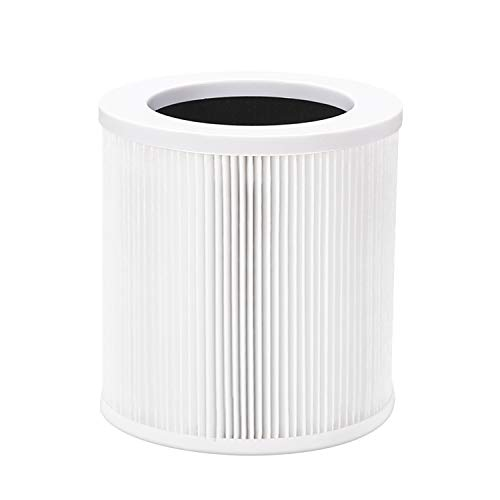Egofine QHK1008-01 True HEPA Air Purifier Replacement Filter, with Activated Carbon Filters