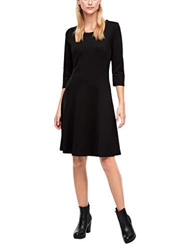s.Oliver Damen Kleid kurz black 40