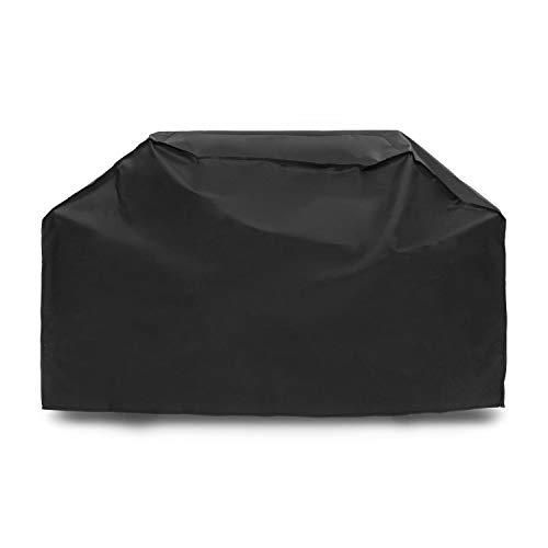 Klarstein Hot & Hot Gasgrill Regen-Cover - Wetterschutz, Schutzhülle, perfekte Passform: 173 x 100 x 60 cm (BxHxT), Robustes & schweres 600D Canvas, reißfest, wasserfest, abwaschbar, schwarz