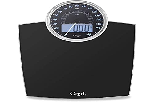 Ozeri Rev 400 lbs (180 kg) Bathroom Scale with Electro-Mechanical...