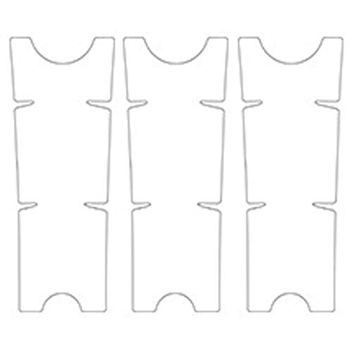 tellaLuna Película protectora de manivela de bicicleta de montaña transparente universal pegatinas de manivela placa de dientes cubierta protectora