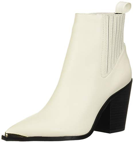 Kenneth Cole New York Women's West Side Bootie RB, White, 9.5 M US