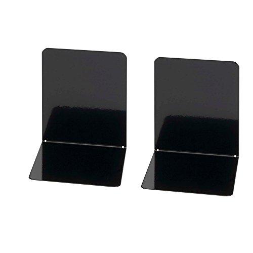 Wedo 1021101 - Sujetalibros de metal, ancho, 2 unidades, 14