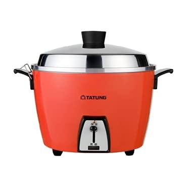 【TATUNG 大同電鍋】大同電気釜(大同電鍋) 炊飯器 6合 ーオレンジー Mサイズ 【並行輸入品】