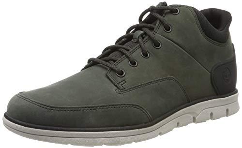 Timberland Herren Bradstreet Molded Chukka Boots, Grün (Dark Green Nubuck), 46 EU