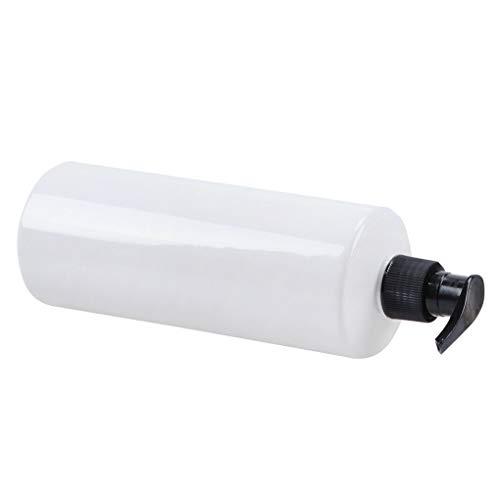 Fangjuhua 500ml Vacía Recargable Bomba de la loción Press Botella Cuerpo de la Botella de champú Gel de baño de Lavado Gel de Ducha champú líquido de artículos de tocador de contenedores