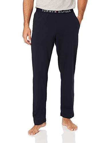 Tommy Hilfiger Herren Jersey Pant Sporthose, Blau (Navy Blazer 416), W(Herstellergröße: SM)