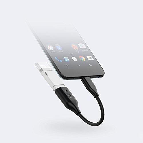Anker USB-C zu USB 3.1 Adapter, wandelt USB-C Buchse in USB-A weiblich, nutzt USB-OTG-Technologie, kompatibel mit Samsung Galaxy Note 8, S8 S8+ S9, iPad Pro 2018, Nexus 6P 5X, LG V20 G5 und mehr