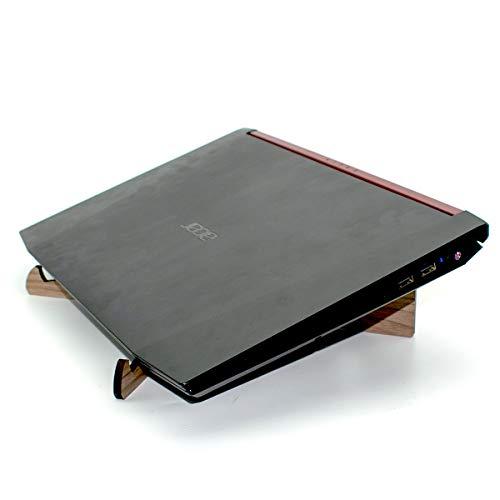 Suporte Base de Mdf Madeira Para Macbook Mac Notebook Laptop Dj Resistente