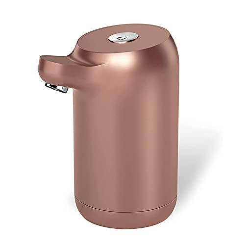 Sdesign Bomba de botella de agua Dispensador de agua, Dispensador de agua automático Mini USB Dispensador de bomba de botella de agua recargable, para oficina, cocina, camping, interior y exterior uni