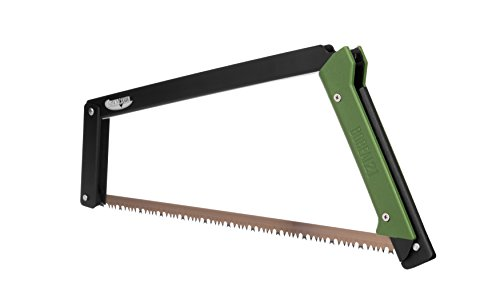 professional Agave Canyon – BOREAL21 Folding Onion Saw – Black Frame, Green Handle, Universal Blade