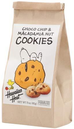 ハワイアンホースト スヌーピー チョコチップマカデミアナッツクッキーBAG(85g)