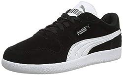 PUMA Unisex-Erwachsene Icra Trainer SD Sneaker, Schwarz (black-white), 43 EU