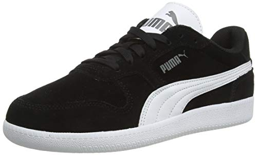 PUMA ICRA Trainer SD, Zapatillas Unisex Adulto, Negro (Black-White 16), 42.5 EU