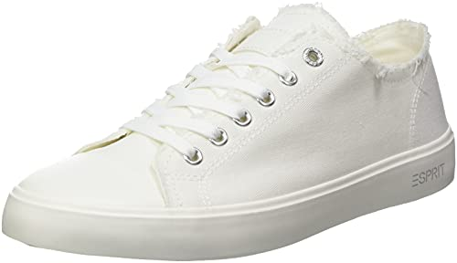 Esprit 041EK1W303, Basket Femme, 101 White 2, 38 EU