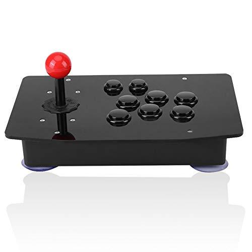 Gamepad für PC, USB Kabelgebundener Arcade Game Controller, USB 2.0 Joystick Gamepad Gaming Controller für WIN7/8/10 mit schnell abprallen, Zero Delay Taste