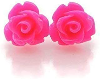 Best pink rose studs Reviews