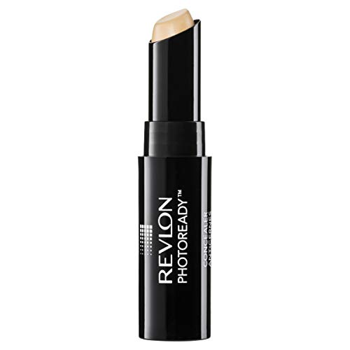 Revlon PhotoReady Concealer Stick, Creamy Medium Coverage Color Correcting Face Makeup, Light (002), 0.16 oz