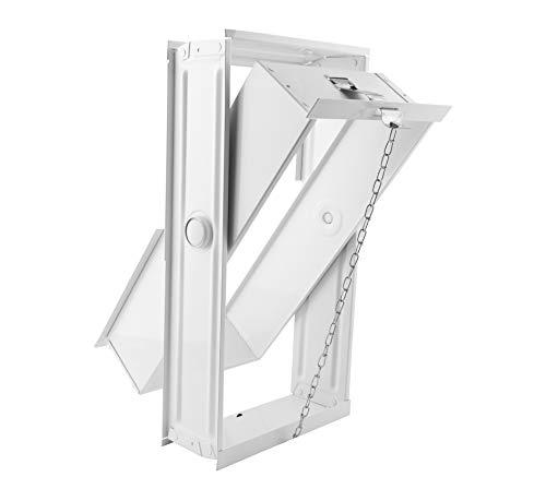 Ventana/Marco abatible y basculante para 2 bloques de vidrio de cm 19x19x8 | Unidad de venta 1 Ventana por 2 bloques de vidrio