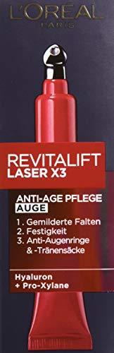 L'Oréal Paris RevitaLift Laser X3 Augenpflege, 15ml