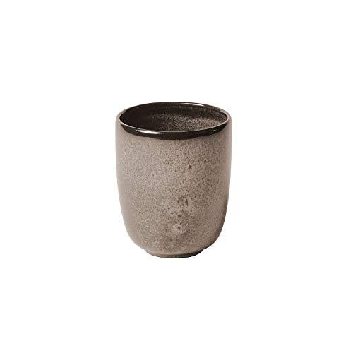 like. by Villeroy & Boch - Lave beige Becher ohne Henkel, 400 ml, Tasse aus Steingut ohne Henkel für besondere Kaffeemomente, spülmaschin- und mikrowellengeeignet