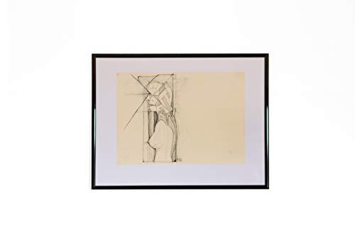 Grenzregionen - Original - Bleistift-Zeichnung - Kugelschreiber - 29,7 x 21 cm