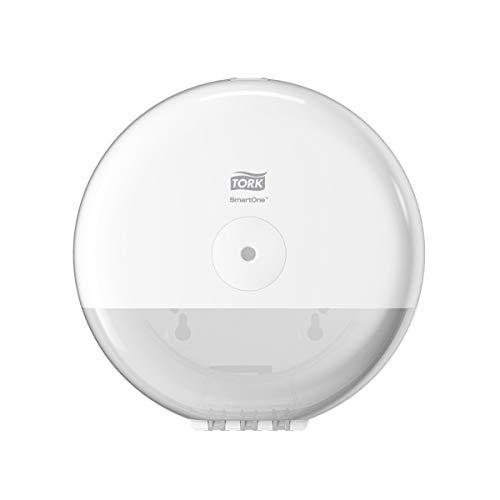 Tork SmartOne® Mini dispensadores de papel higiénico, blancos
