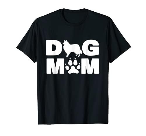 Chemise à collerette pour la maman du chien Cadeau de la fêt T-Shirt