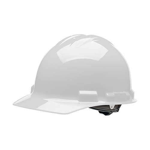 Malta Dynamics 4 pt. Ratchet Cap Style Hard Hat (1 Pack, White)