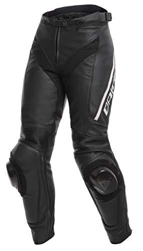 Dainese Delta 3 Damen Motorrad Lederhose Schwarz 50