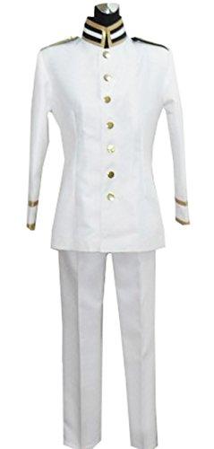 Dreamcosplay Anime Hetalia: Axis Powers Japan White Uniform Cosplay