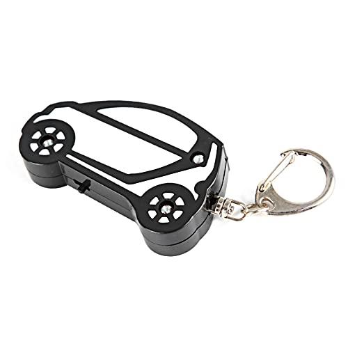 Key Finder, allarme di localizzazione chiave anti-smarrimento durevole, per portafogli auto(white and black)